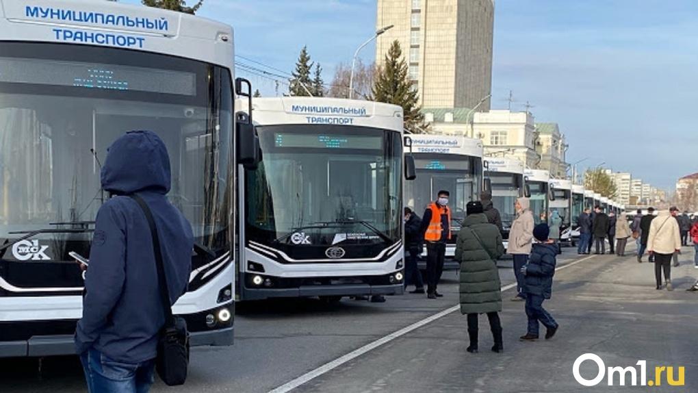 В Омске 15 новых троллейбусов «Адмирал» вышли на магистральный маршрут №67