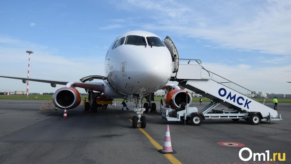 Полеты из Омска в Барнаул и обратно отменили до конца мая