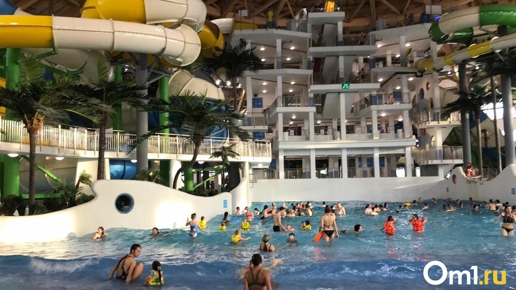 Новосибирский аквапарк могут продать из-за банкротства застройщика