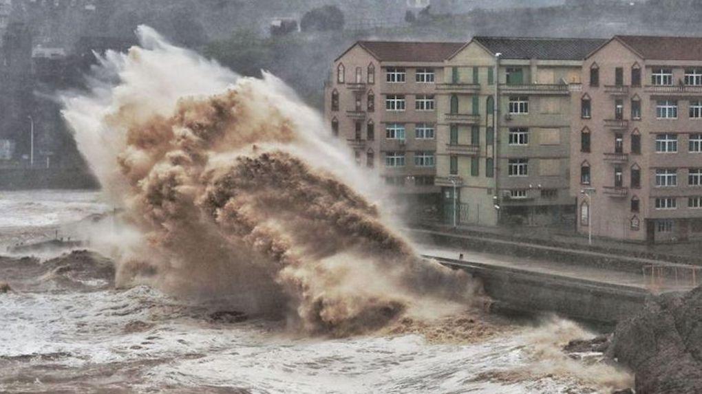России угрожает тайфун «Лекима», который убил 28 человек в Китае