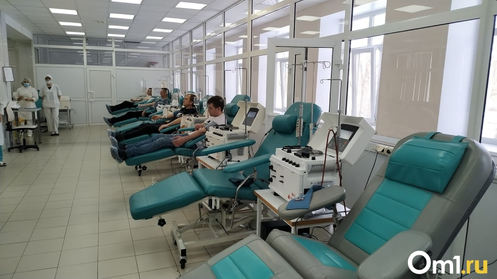 Из-за коронавируса в Омске может возникнуть дефицит крови доноров