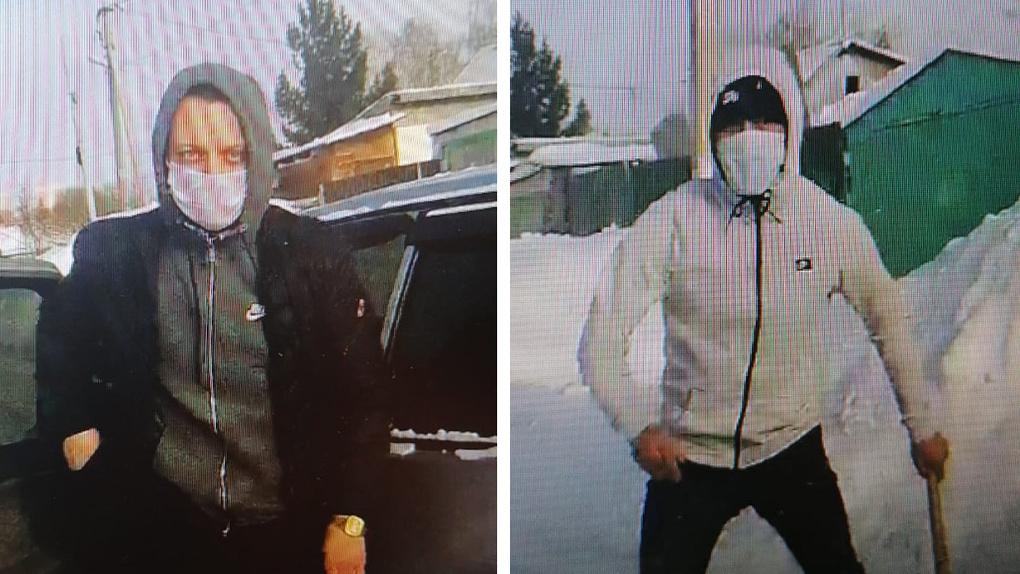 Полицейские показали лица вооруженных налетчиков, напавших на машину инкассаторов