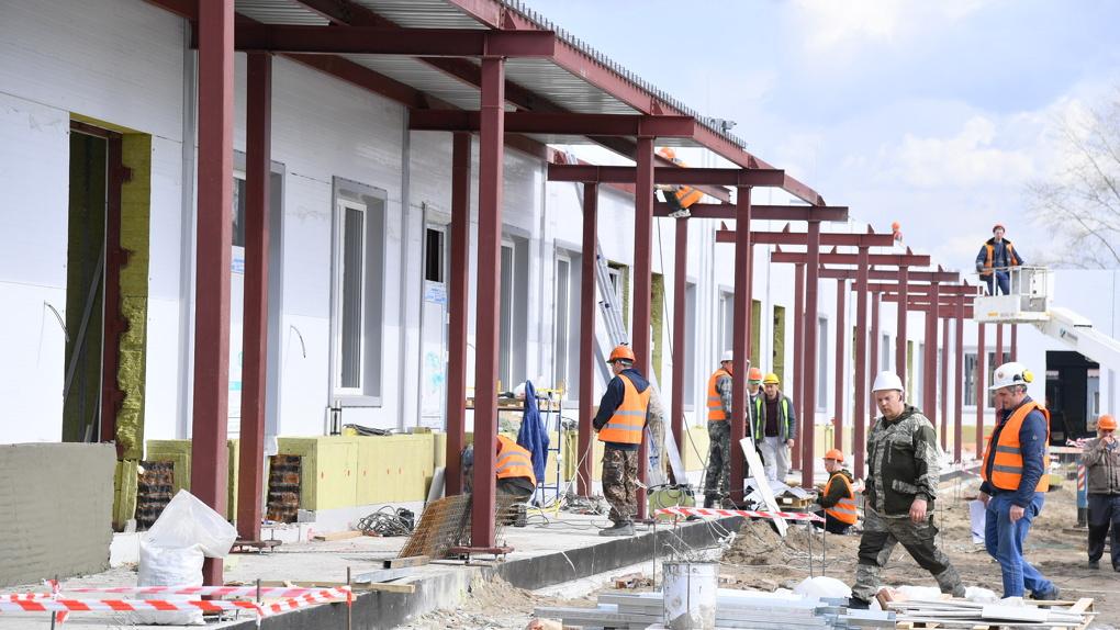 Медцентр Минобороны в Омске откроется в июне