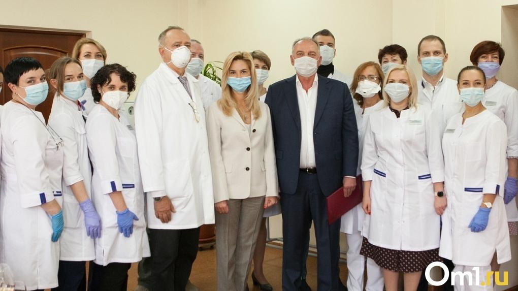 Глава омского Минздрава Ирина Солдатова проверила работу Областной офтальмологической больницы