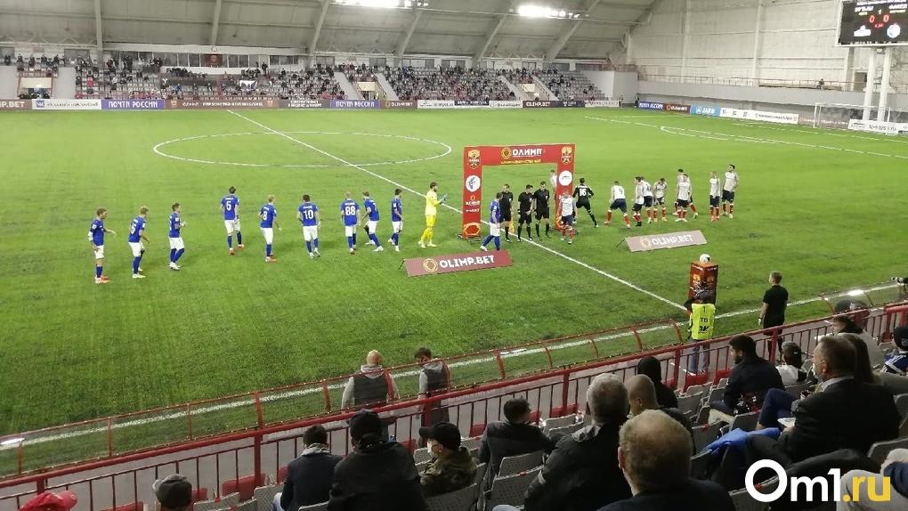 Омский футбольный клуб «Иртыш» получит в 2021 году 150 млн рублей финансирования