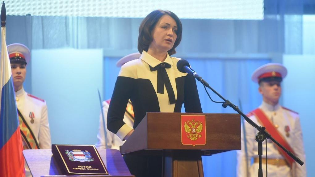 Оксана Фадина стала мэром Омска