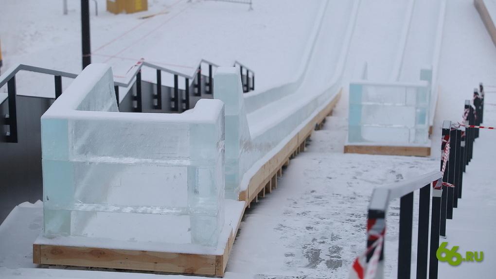 Как в Омске построить в своем дворе безопасную ледяную горку. Понятная инструкция и чертеж