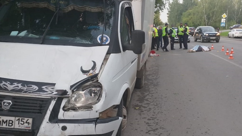Новосибирские автоинспекторы объявили в розыск водителя, насмерть сбившего женщину в Дзержинском районе