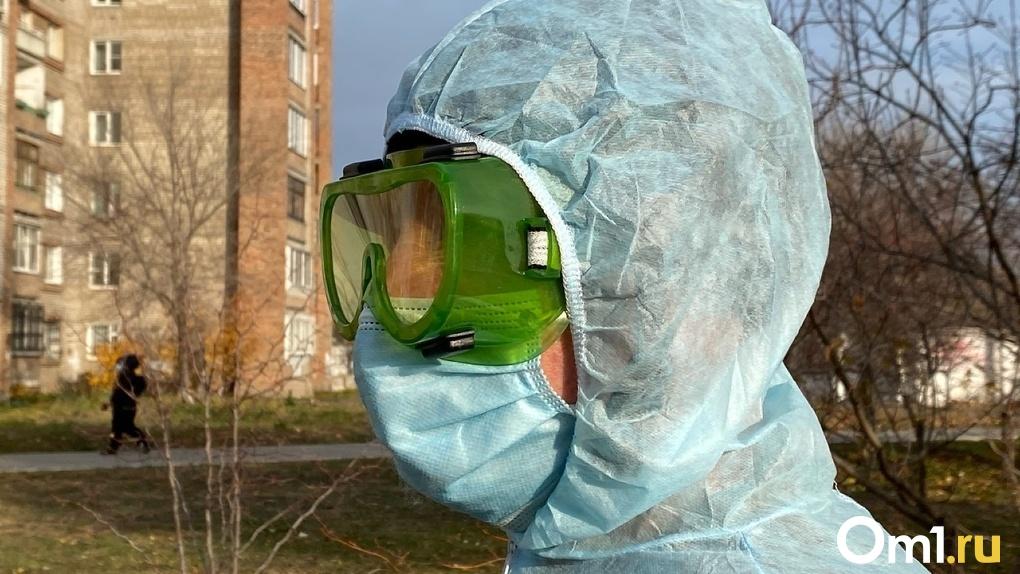 В одном из районов Омской области произошёл всплеск заболеваемости коронавирусом