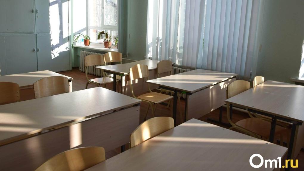 Омской школе вынесли представление за «неправильные» парты
