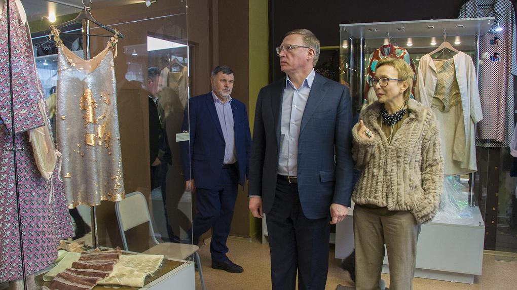 Бурков обсудил с Арт-резиденцией, что делать с Омской крепостью