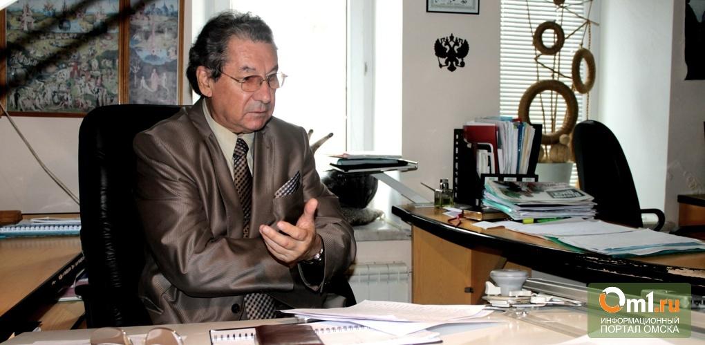 В Омске установят памятную доску в честь скончавшегося архитектора Каримова