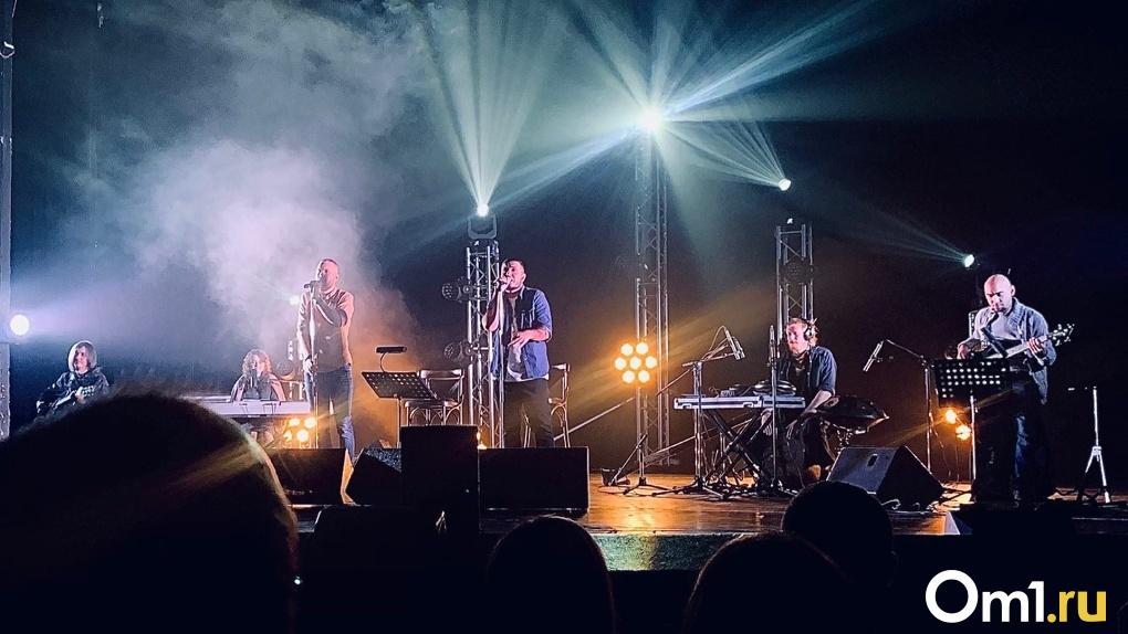 Омская группа ГРОТ дала концерт в родном городе в самый разгар пандемии COVID-19