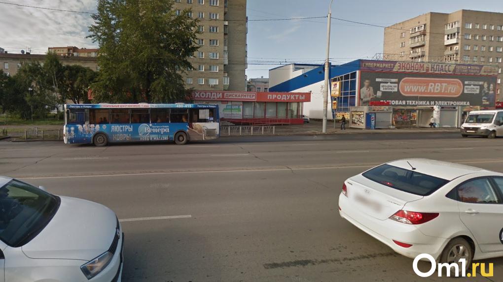 Омские власти запретили строить парковку на Красном Пути