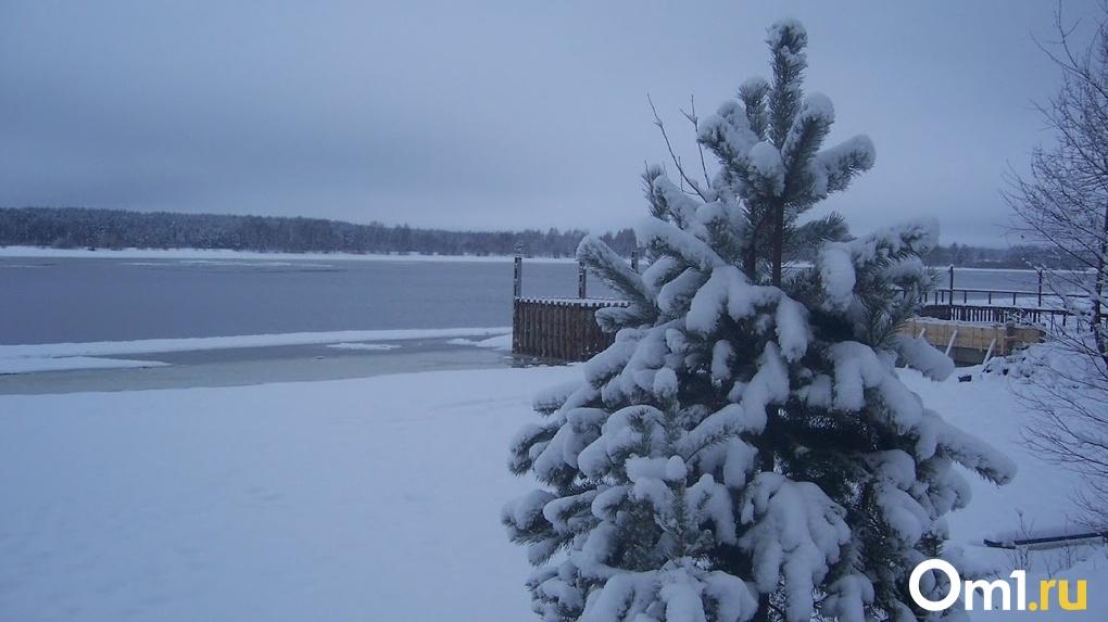 Снегопад и морозы. Уже на этой неделе в Омскую область придёт зима