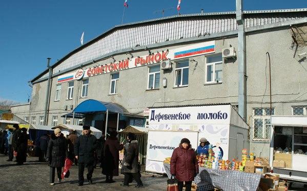 Омичи жалуются на застройки на Советском рынке
