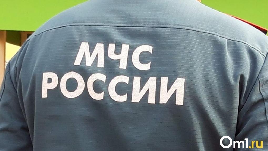 Семеро одного спасли: в Омске достали из Иртыша утопающего мужчину