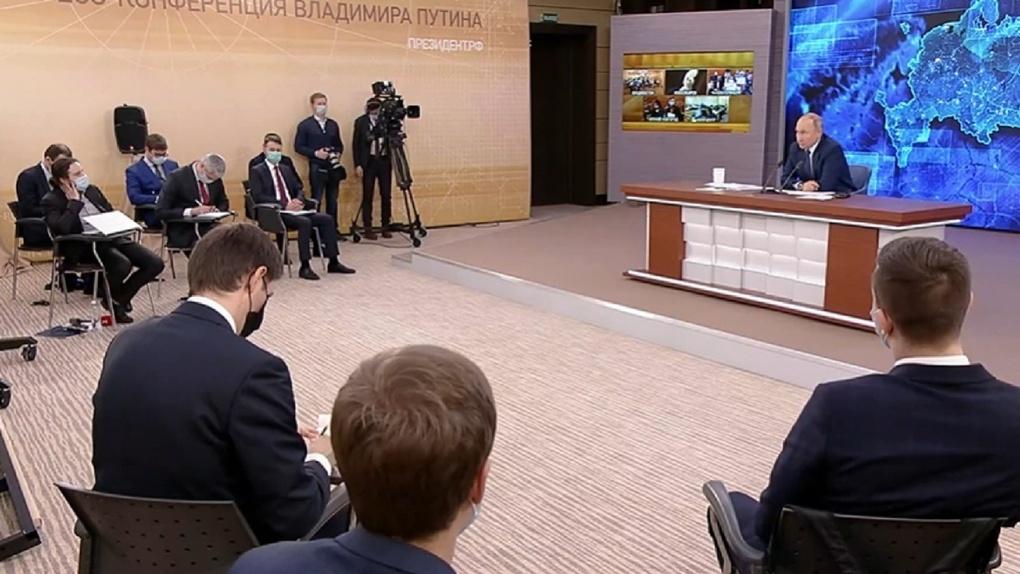 Журналистка, работавшая в Омске, задала Путину вопрос про Фургала