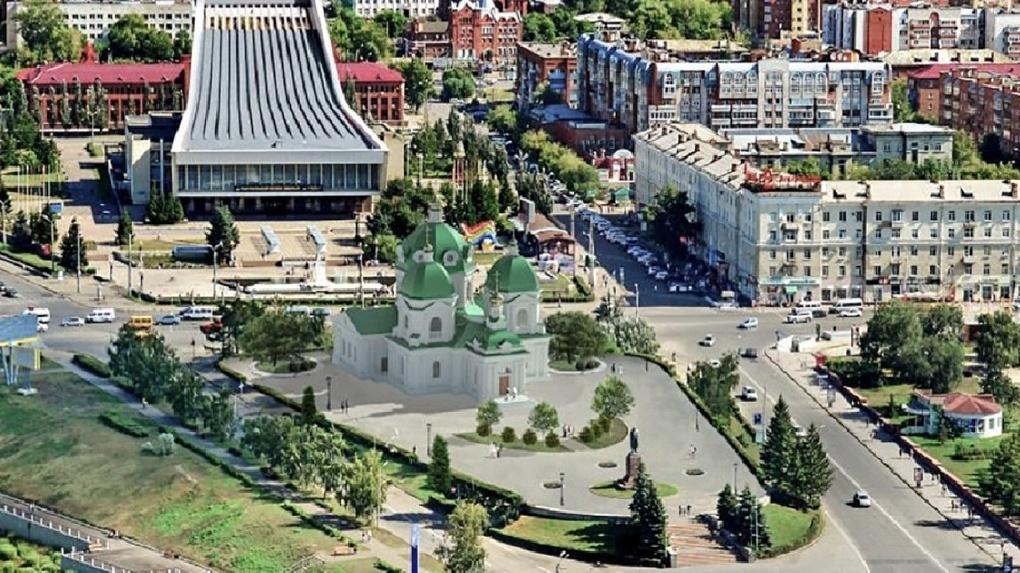 Стало известно, подо что Полежаев маскирует Ильинскую церковь