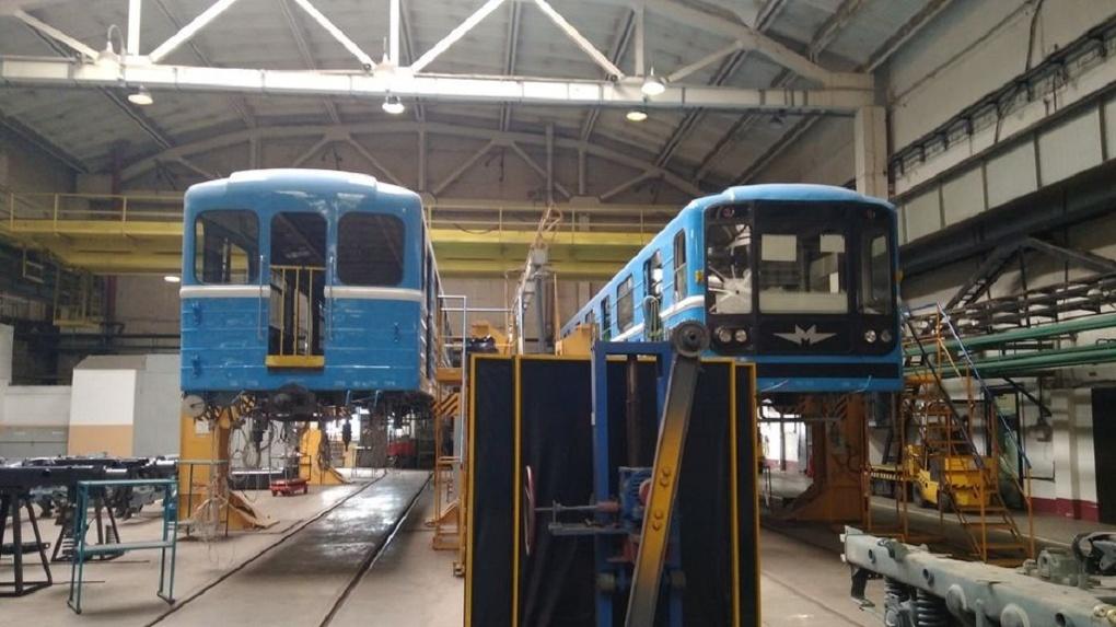 В Новосибирском метрополитене отремонтировали 48 вагонов электропоездов