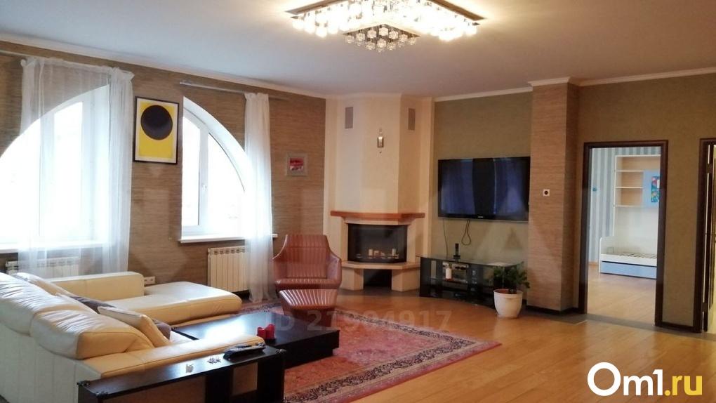В Омске сдают квартиру за 112 тысяч в месяц