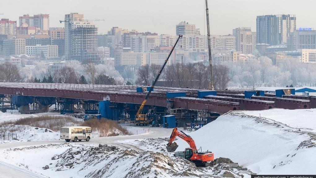 Власти Новосибирска выдали разрешение на строительство нового этапа четвёртого моста