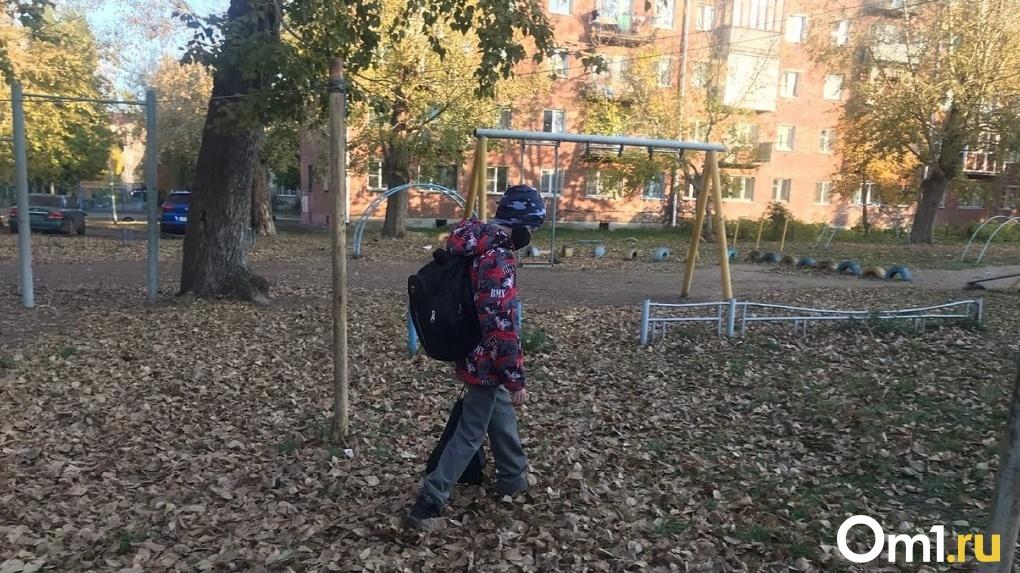 Штраф – 15 000 рублей. Родителей омских школьников, которые гуляли во время карантина, будут наказывать