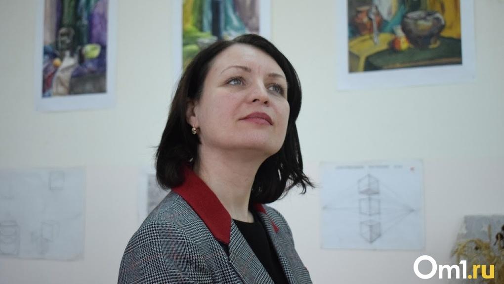 «Благодарна за совместную работу». Фадина прокомментировала отставку главы омского депкульта Шалака