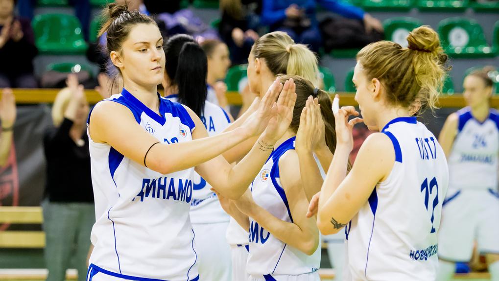 У новосибирского женского баскетбольного клуба «Динамо» появился новый спонсор