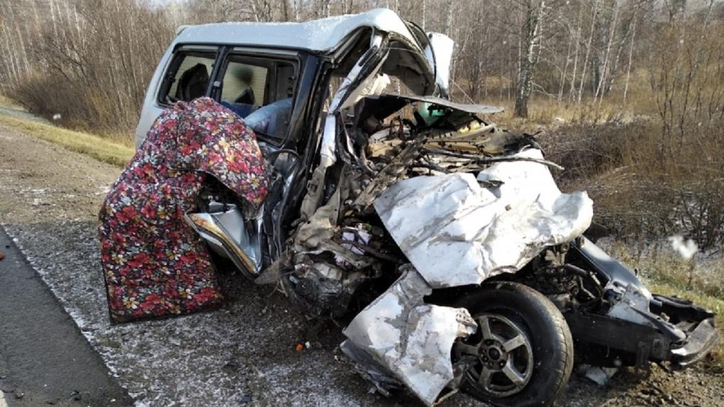 Ещё один погибший: полиция раскрыла подробности страшной аварии автобуса с минивэном под Новосибирском