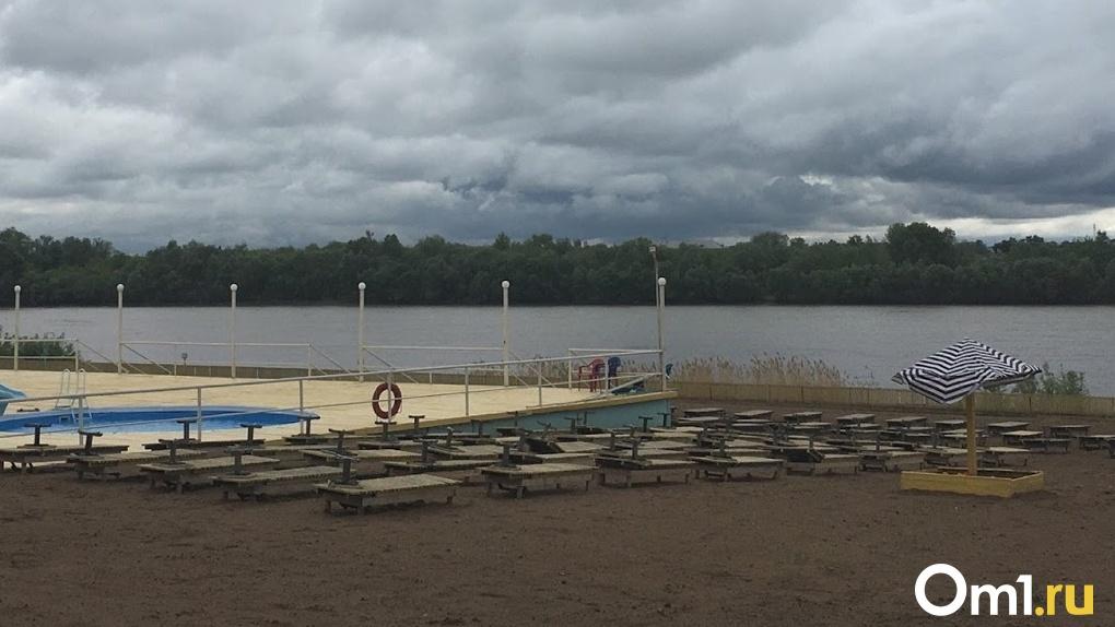 В Омске отменили режим ЧС, введенный для ликвидации последствий урагана
