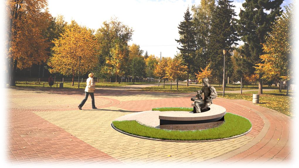 Бронзовая скульптура отца и сына появится в Новосибирске