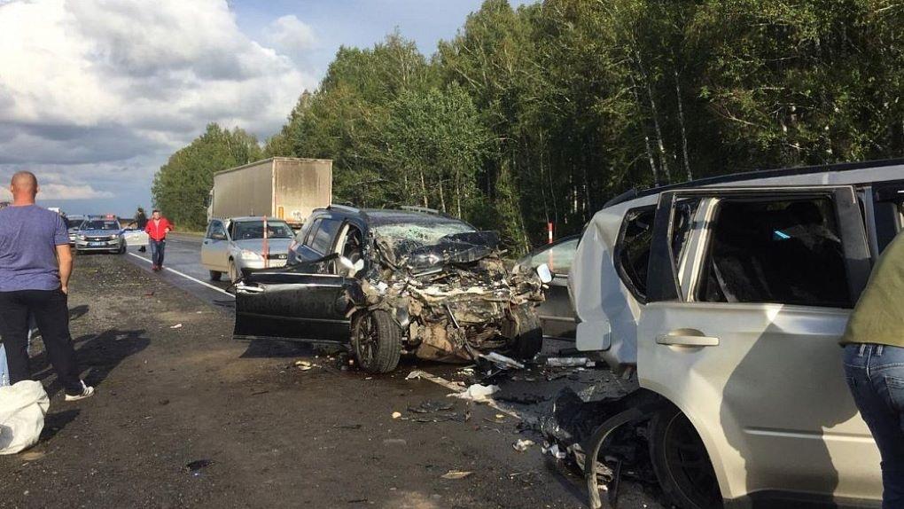 Четырёхлетняя девочка погибла при лобовом столкновении автомобилей на трассе «Челябинск — Новосибирск»