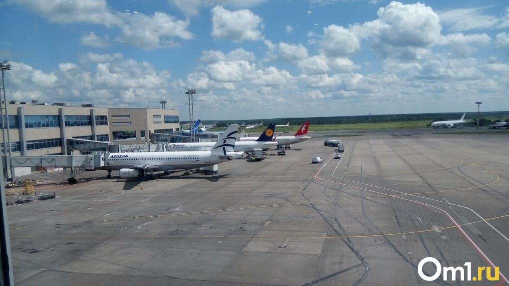 Стали известны авиакомпании, задерживающие рейсы из Омска