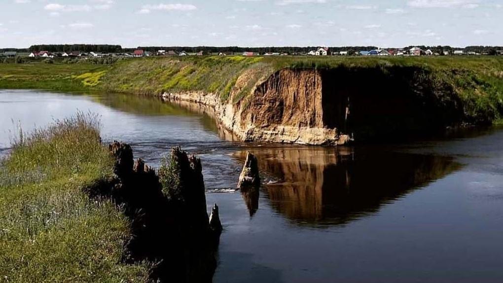 В Омской области река Омь образовала новое русло