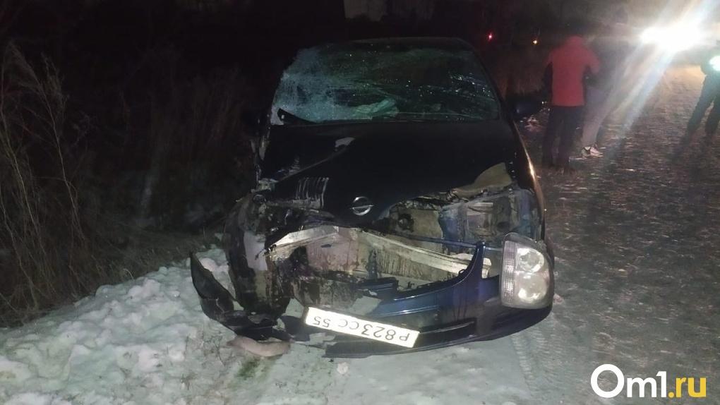 В Омской области в аварии с двумя автомобилями едва не погиб 4-летний мальчик