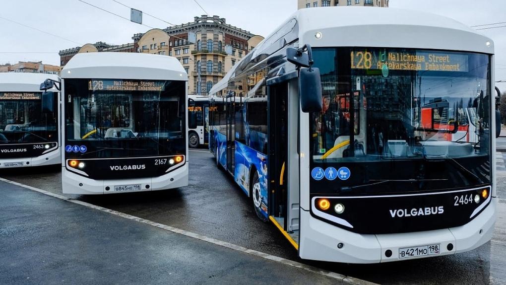 В Омск прибыла очередная партия экологичных автобусов, работающих на газе