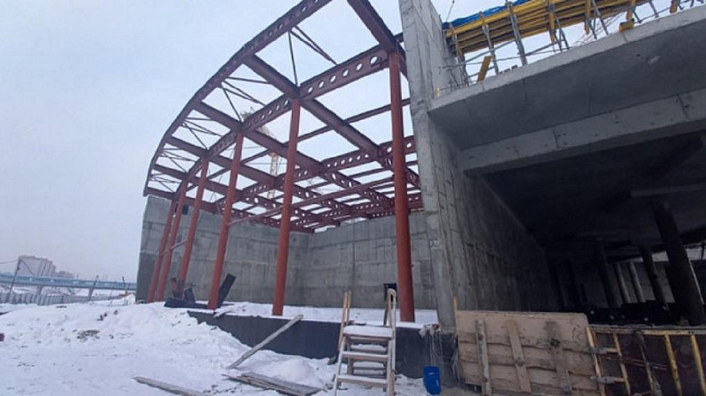 Названа дата открытия новой ледовой арены в Новосибирске