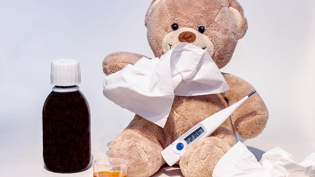 За неделю в Омской области больше 9 тысяч человек заболели ОРВИ
