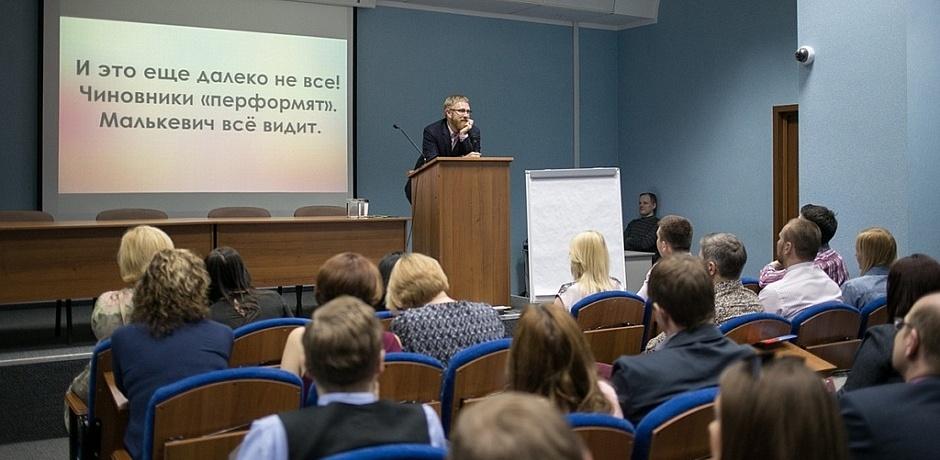 Организатор цикла лекций «Формула успеха» в Омске после выступления гендиректора «12 канала» сменил пароли в соцсетях