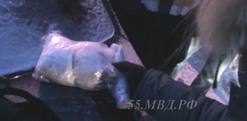 В Омске поймали наркоторговца с 1 килограммом «соли»