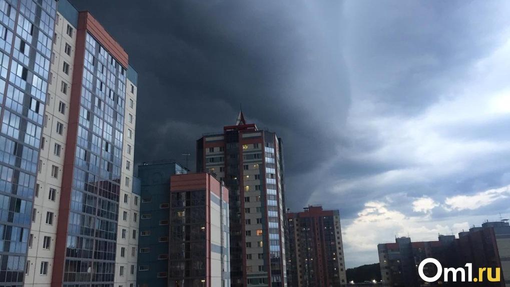 Штормовой ветер несётся в Новосибирскую область