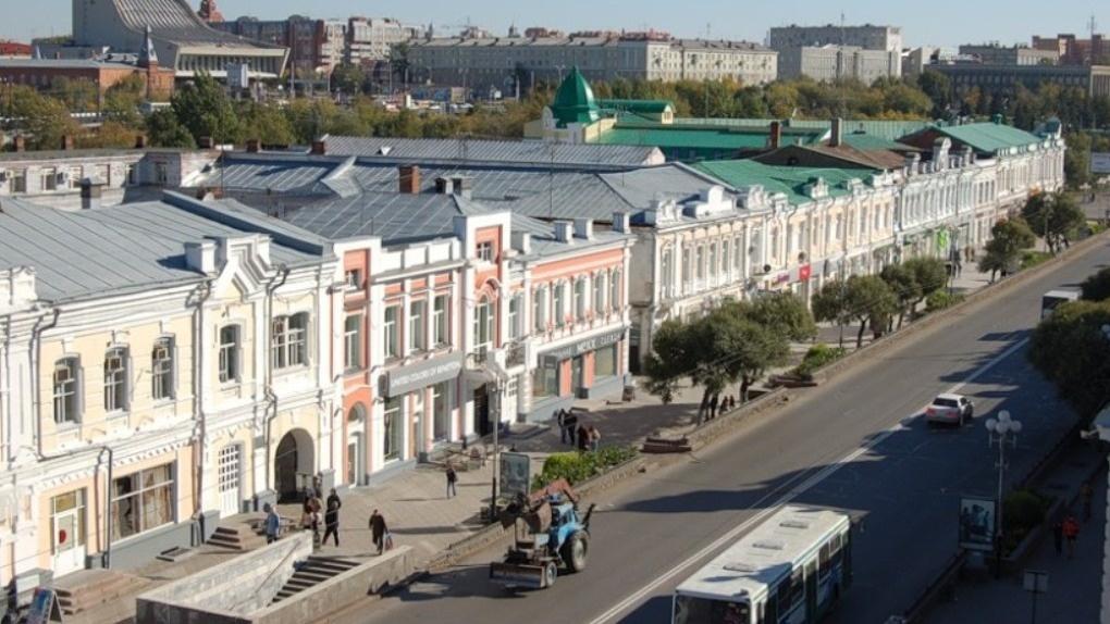 В Омске пока не сделают пешеходным Любинский проспект