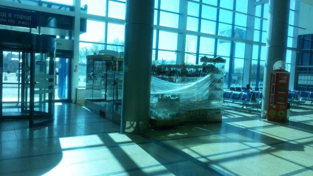 Омский аэропорт не будет принимать международные рейсы весь апрель