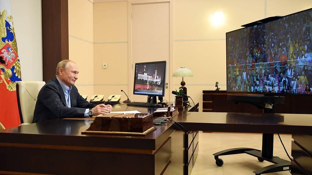 Путин хочет, чтобы конкурс для школьников «Большая перемена» был ежегодным