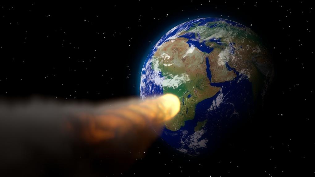 На Новосибирск надвигается астероид
