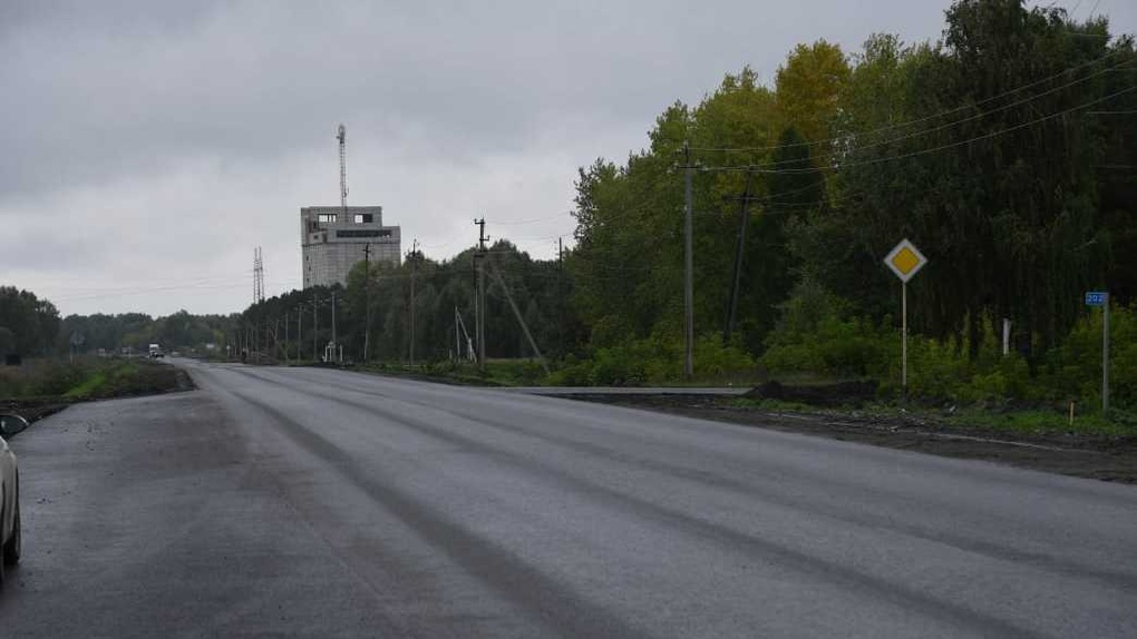 В Омской области решили проблему с дорогой, которую затапливало грунтовыми водами