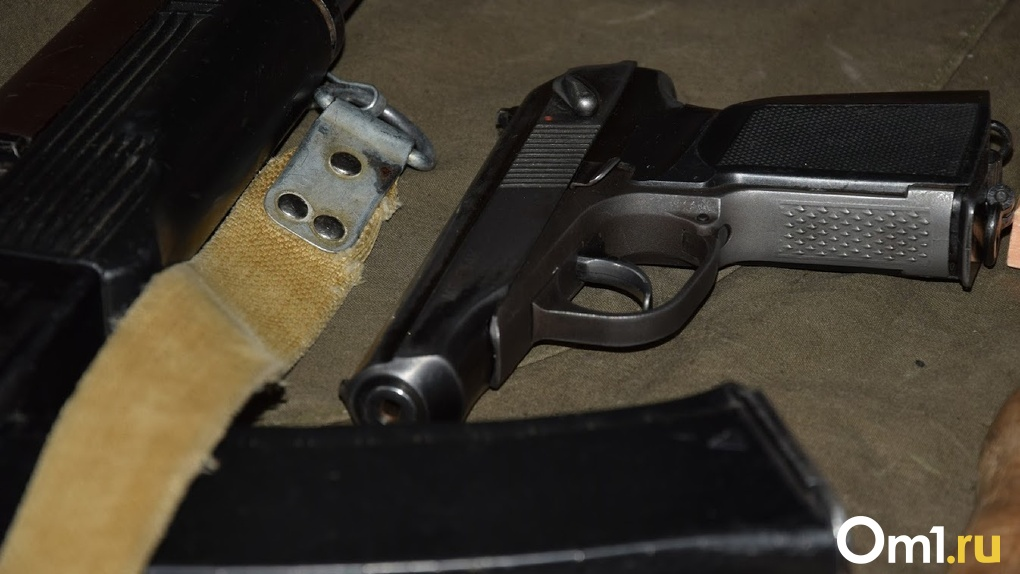 Омич, отсидевший за убийство, устроил на улице стрельбу из ружья