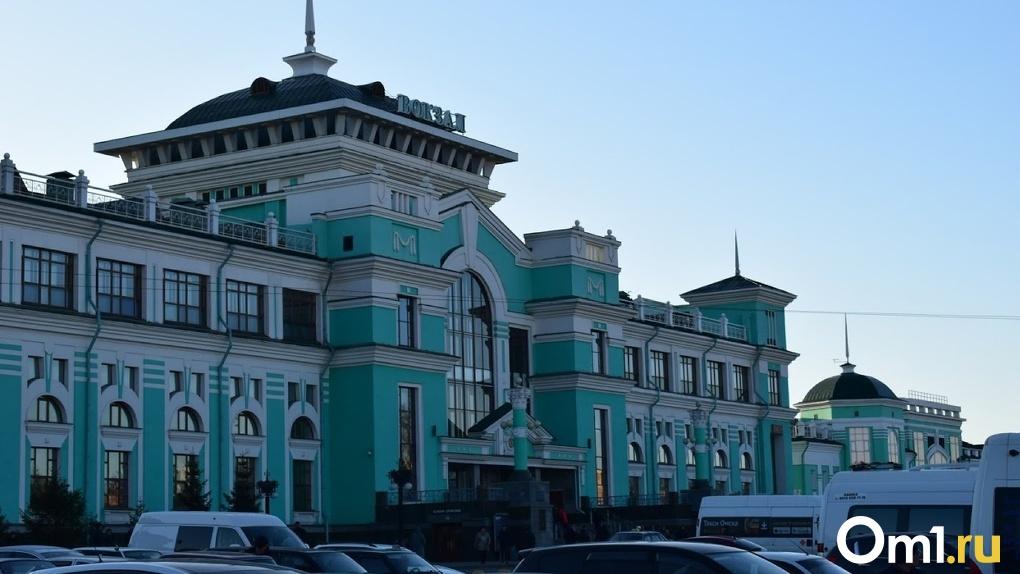 В Омске загорелась маршрутка