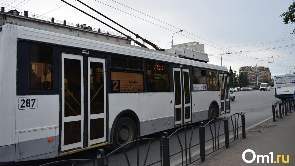 Омичам вернут конечную троллейбусную остановку «городок Водников»